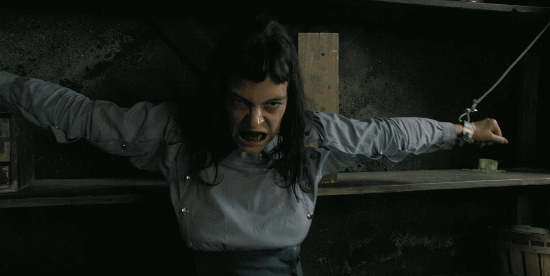 Pollyanna McIntosh as the imprisoned in The Woman (2011)