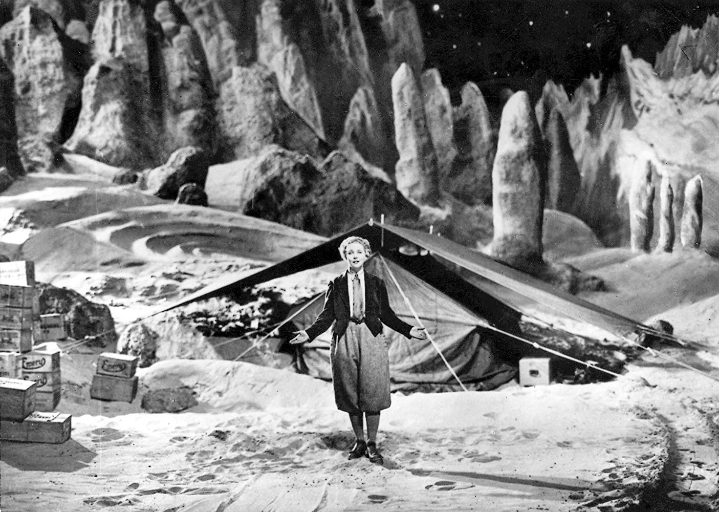 Gerda Marcus as Friede Velten, Woman in the Moon (1929)