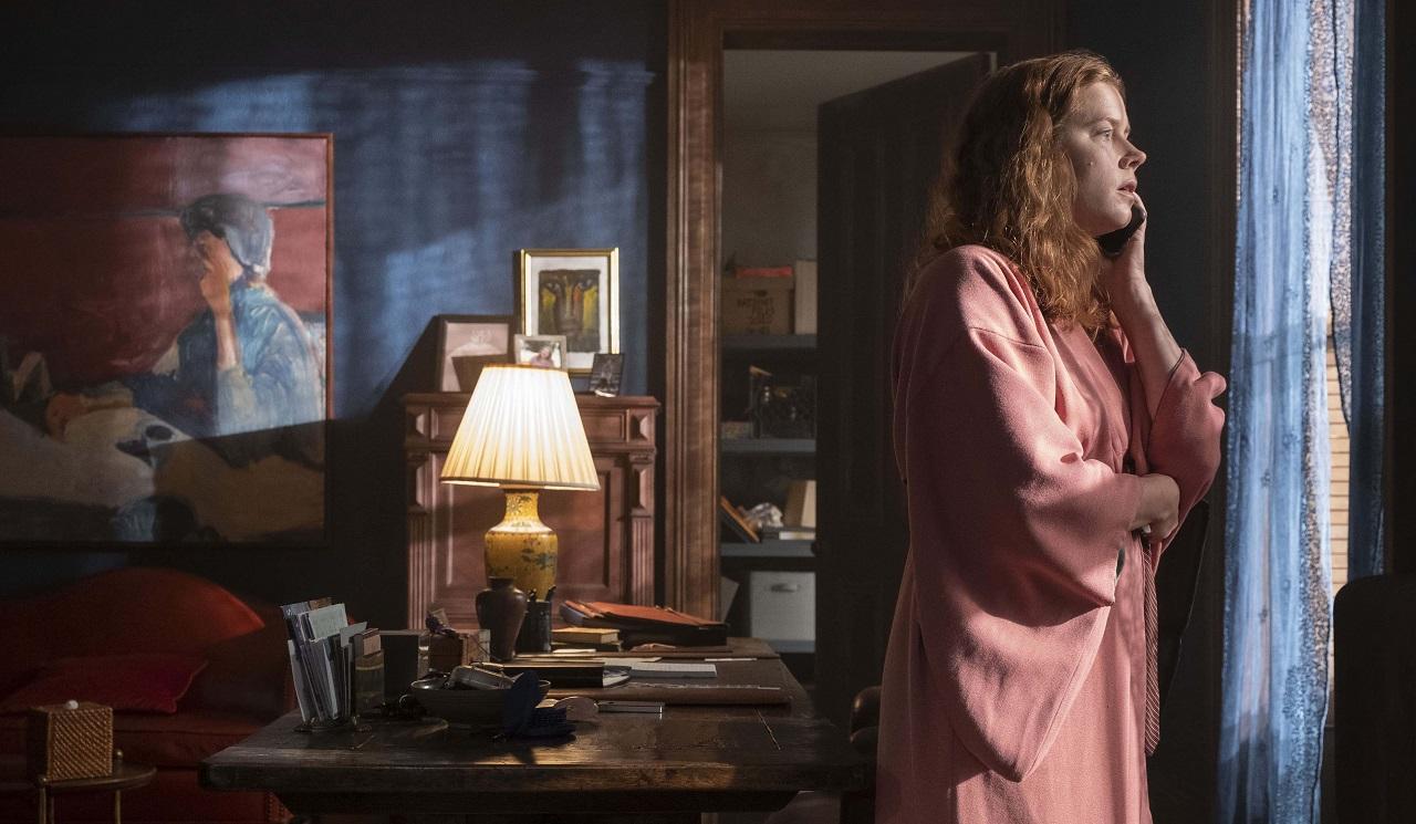 An agoraphobic Amy Adams in The Woman in the Window (2021)