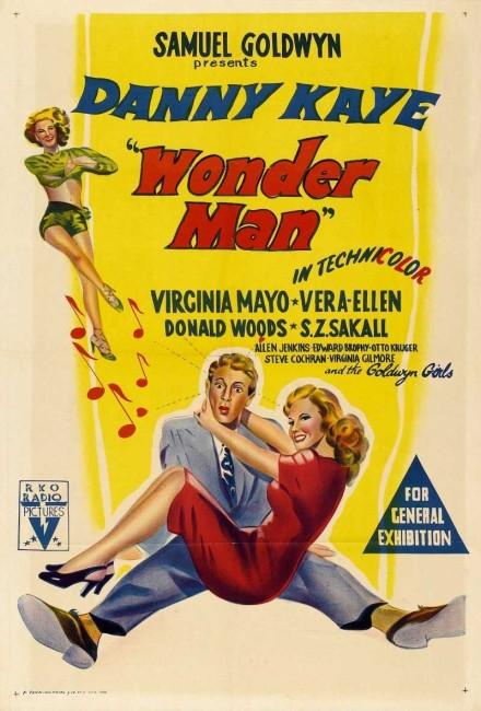 Wonder Man (1944) poster