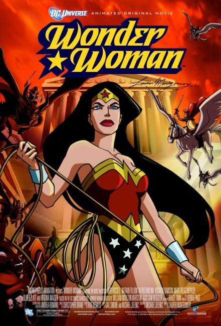 Wonder Woman (2009) poster