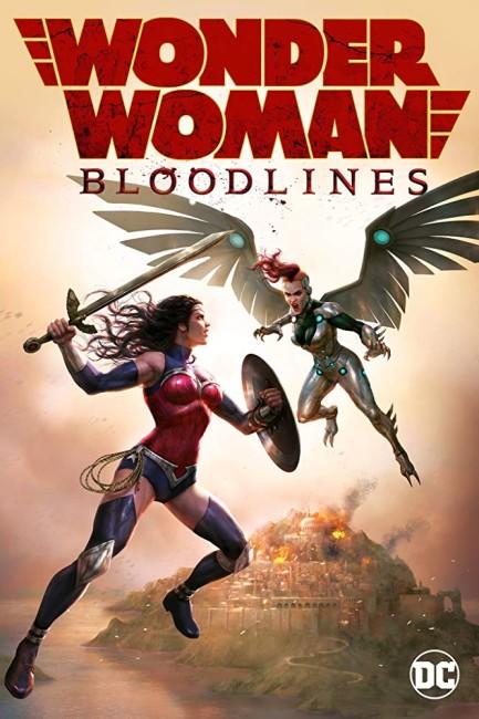 Wonder Woman: Bloodlines (2019) poster