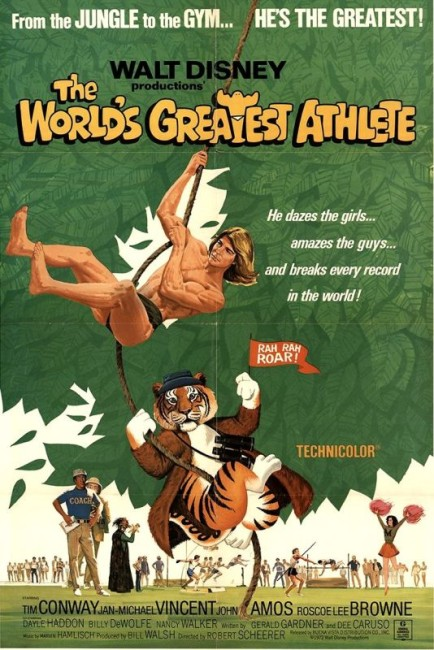 The World's Greatest Athlete (1973) poster