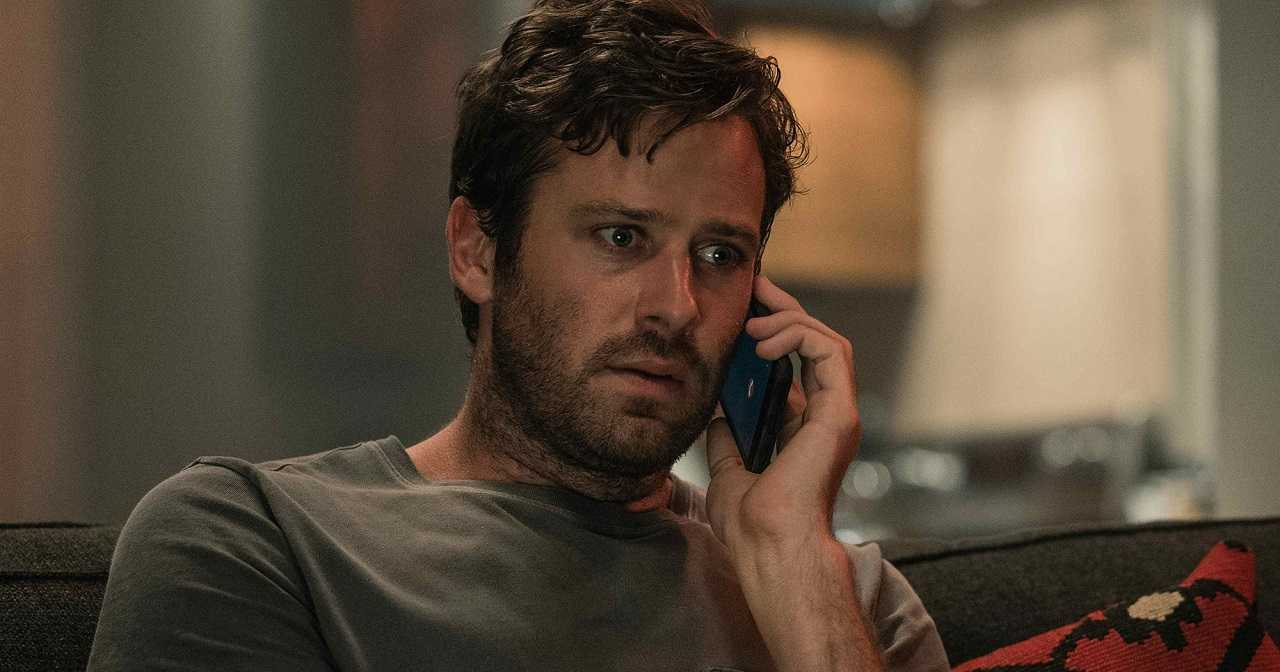 Armie Hammer caught up in a cellphone nightmare in Wounds (2019)