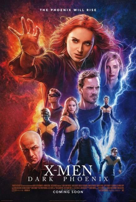 X-Men: Dark Phoenix (2019) poster