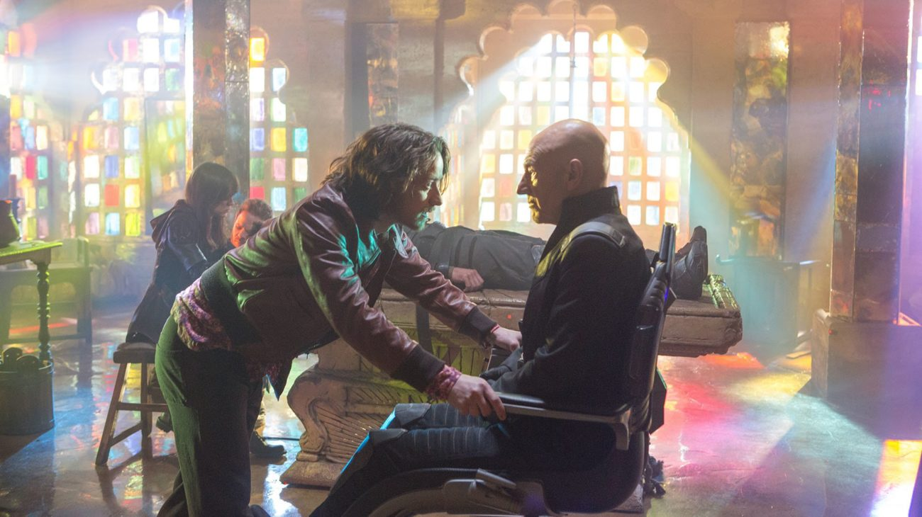James McAvoy, Patrick Stewart in X-Men: Days of Future Past (2014)