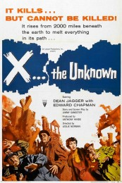 X the Unknown (1956) poster