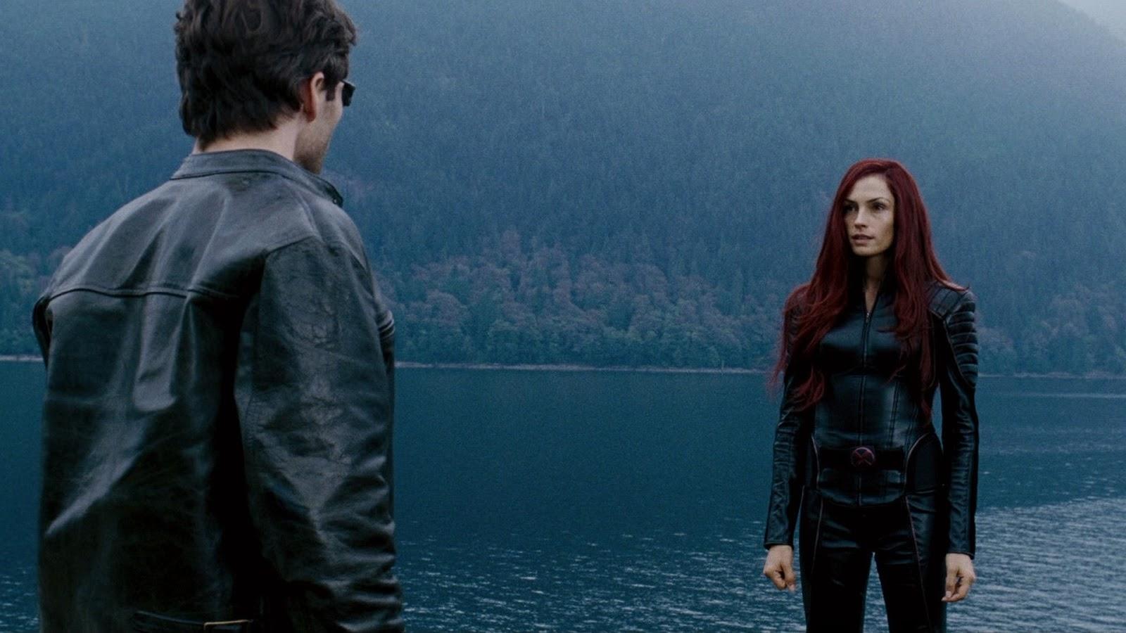 Cyclops (James Marsden) greets the resurrected Dr Jean Grey (Famke Janssen) in X-Men: The Last Stand (2006) 2