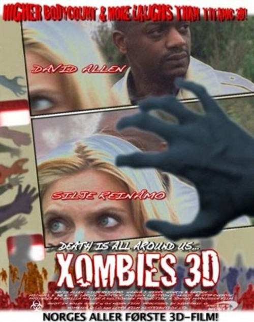 Xombies 3D (2011) poster