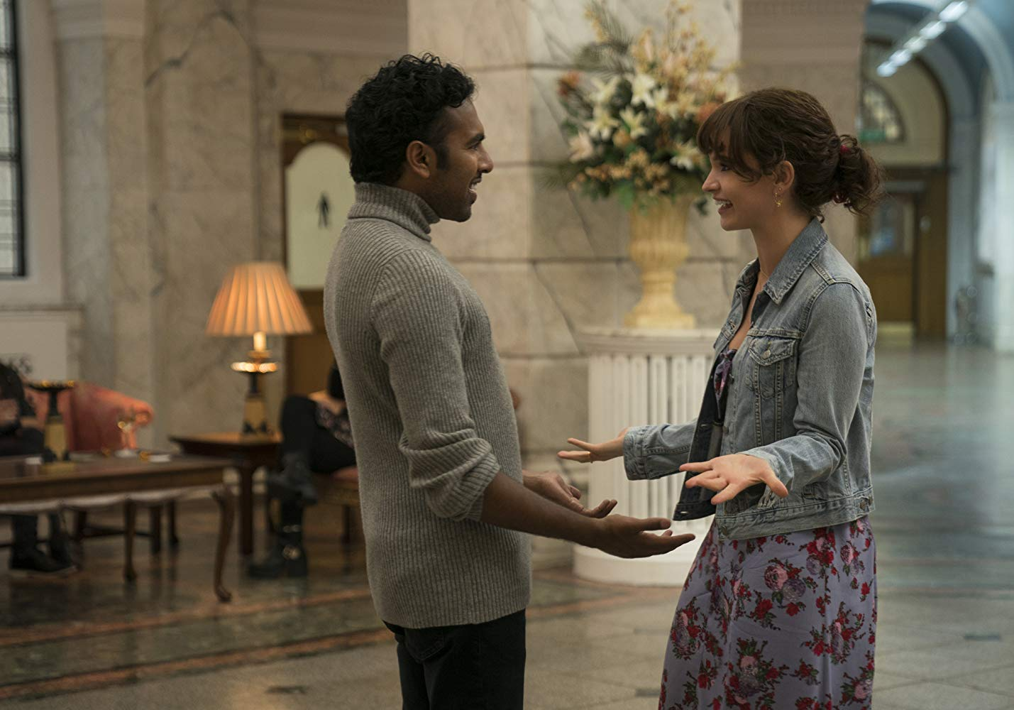Thwarted loves - Himesh Patel and Lily James in Yesterday (2019)