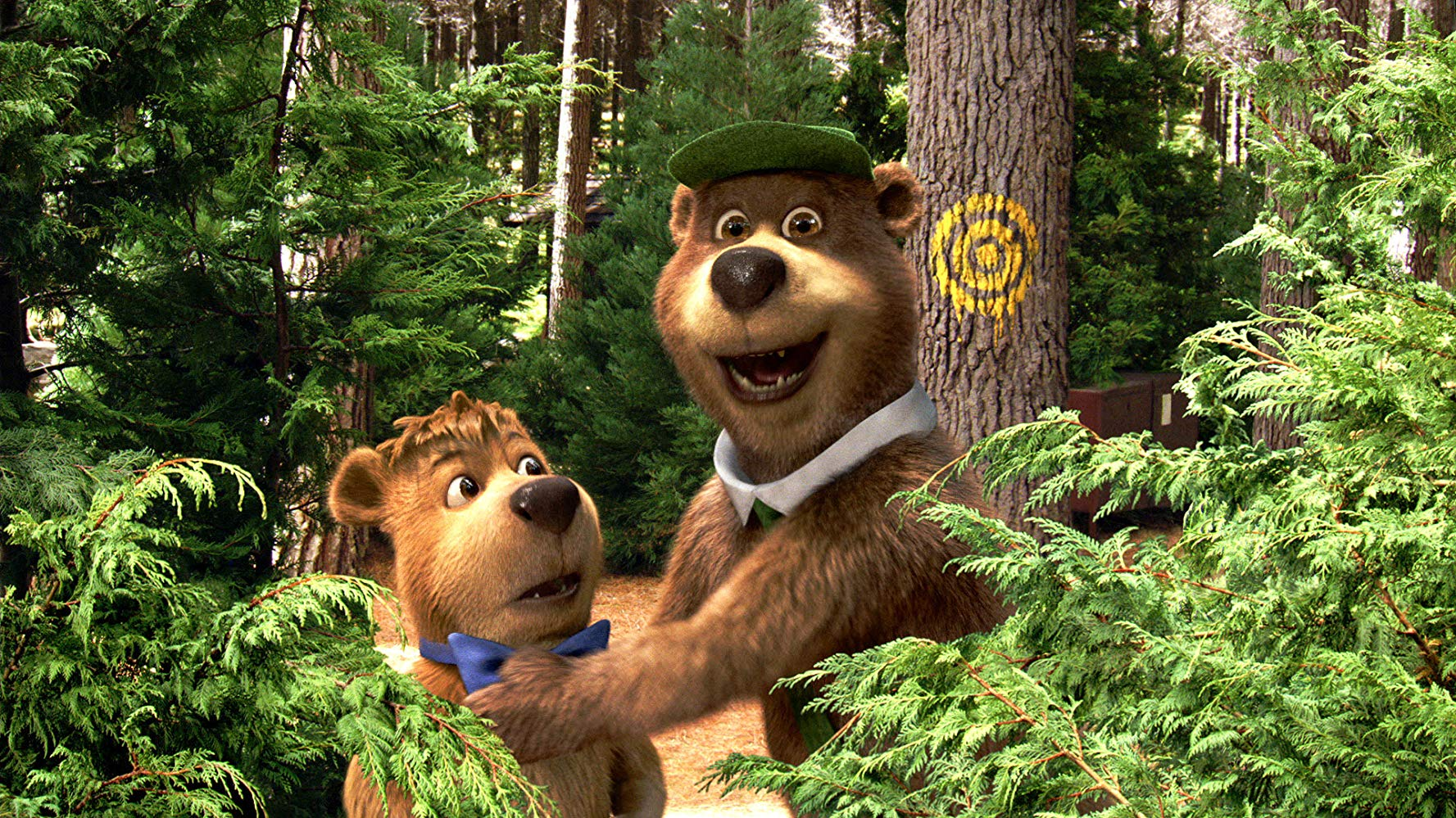 Yogi and Boo Boo in Yogi Bear (2010)