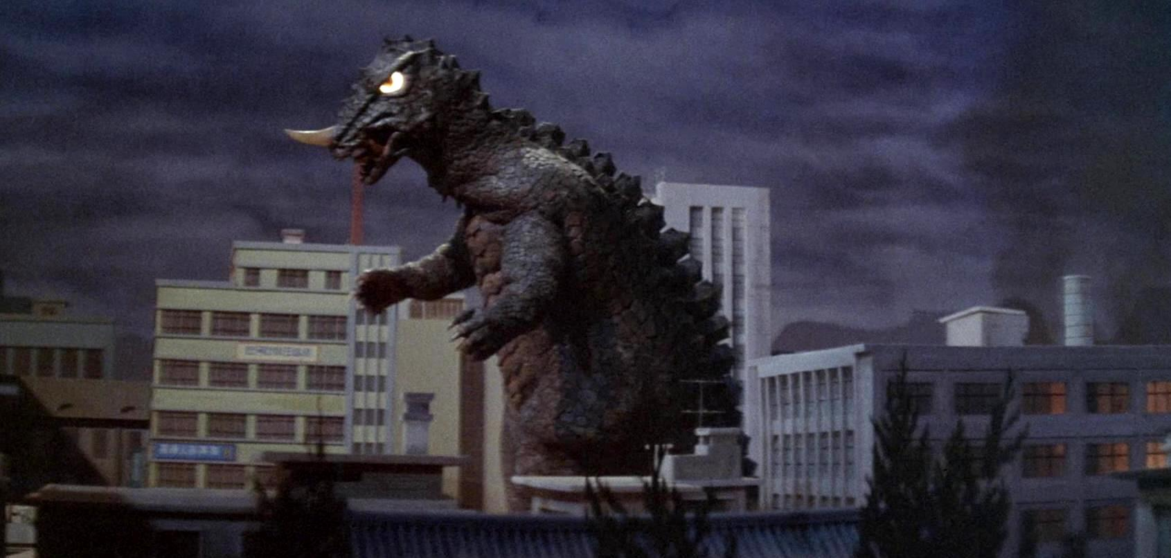 Yongary - the South Korean equivalent of Godzilla in Yongary Monster from the Deep (1967)