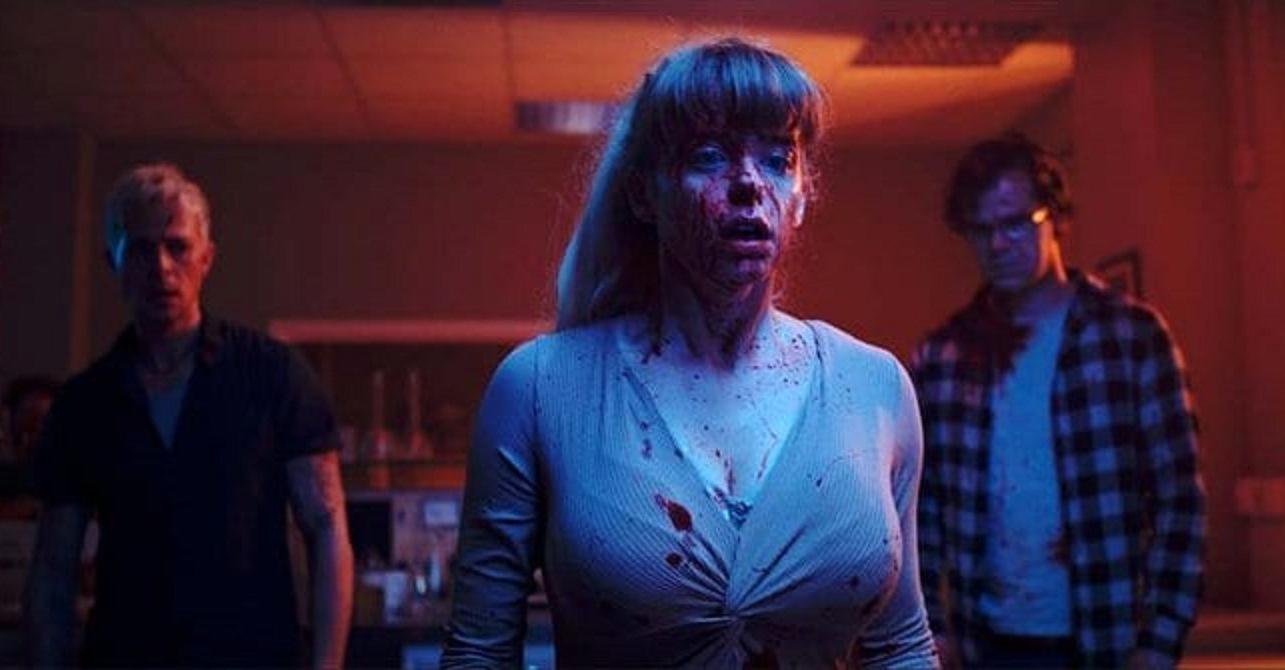 Benjamin Ramon, Maaike Neville and Bart Hollanders face zombies in Yummy (2019)