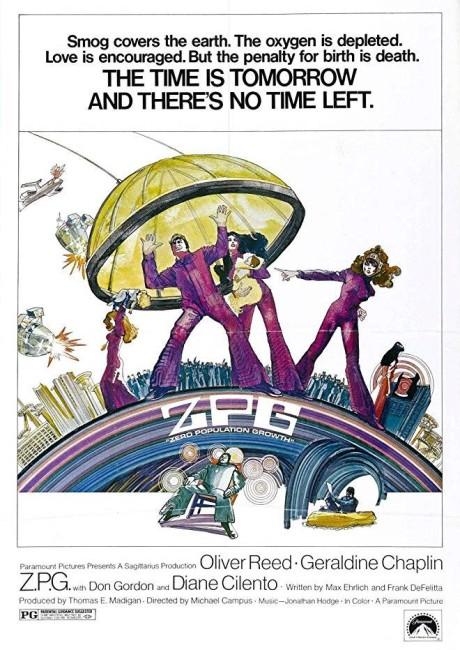 Z.P.G. (Zero Population Growth) (1972) poster
