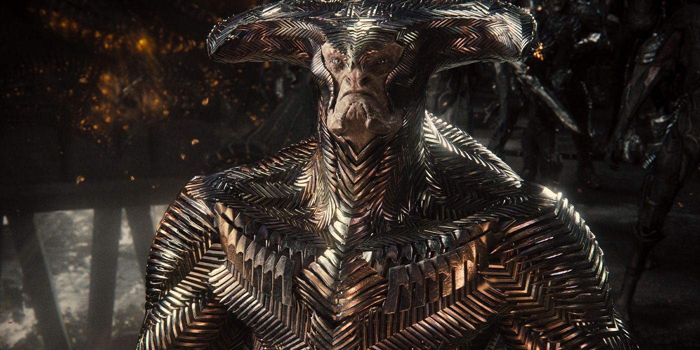 The restored version of Steppenwolf in Zack Snyder's Justice League (2021)