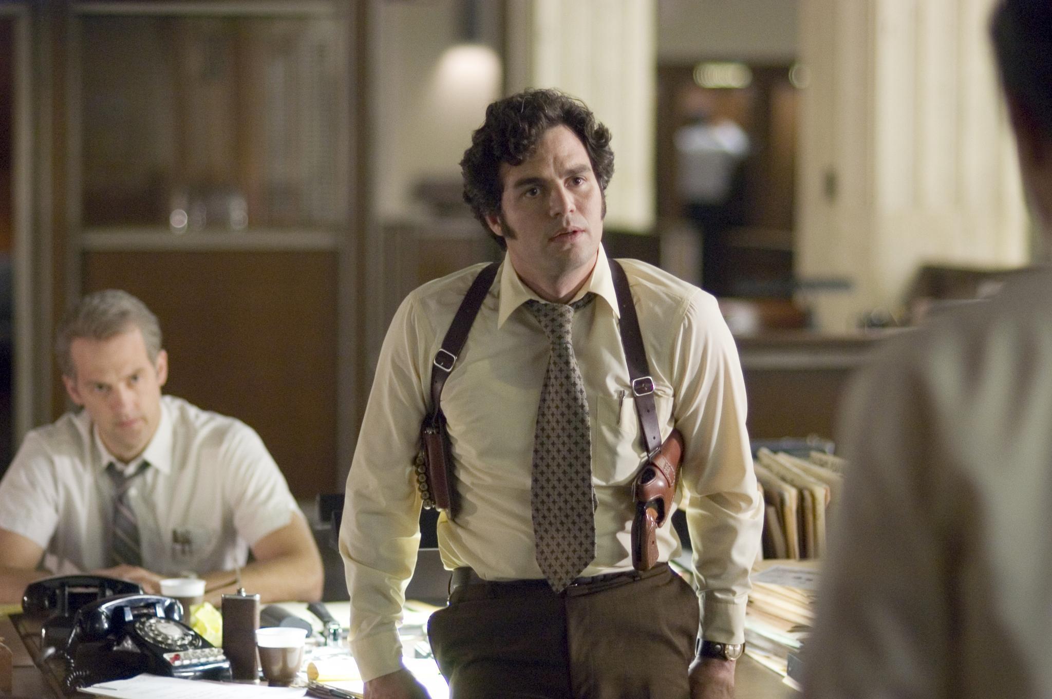 Mark Ruffalo as police detective David Toschi in Zodiac (2007)