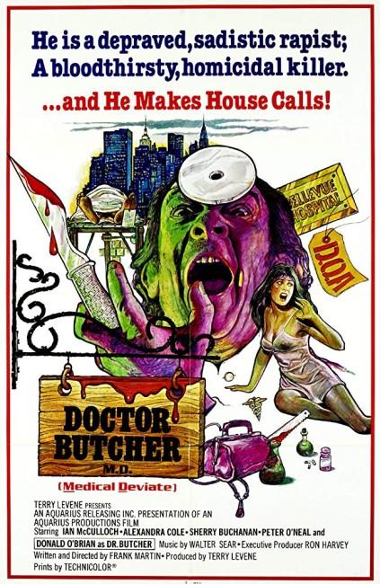 Zombie Holocaust (1980) poster