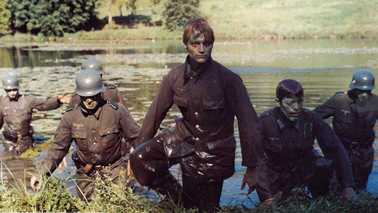Nazi zombies rise from the lake in Zombies Lake (1981)