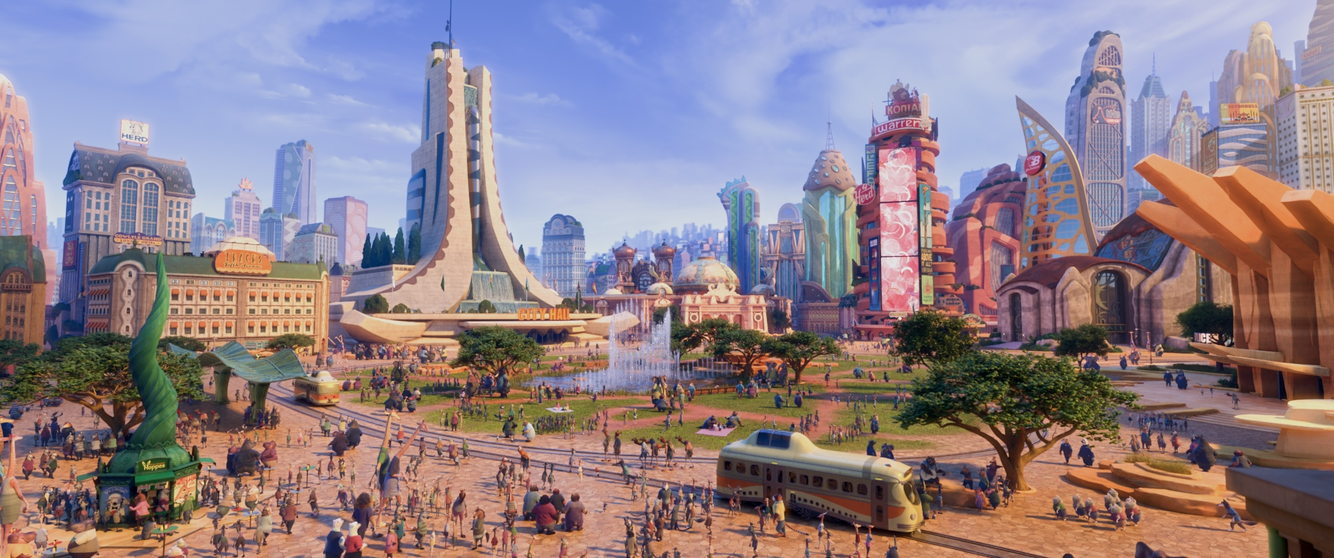 Zootopia City in Zootopia (2016)