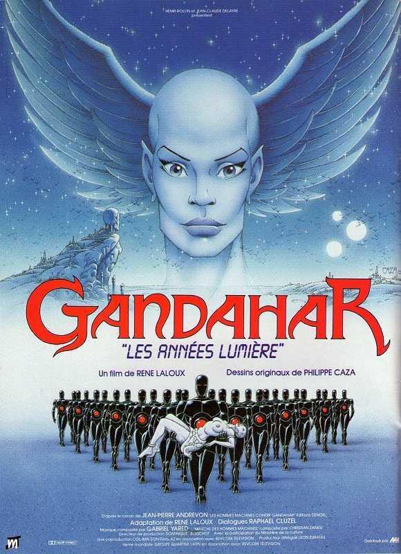 Gandahar (1988) poster