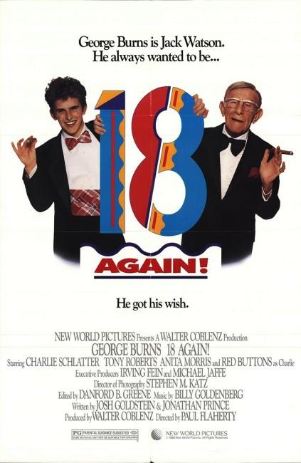 18 Again (1988) poster