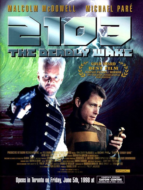 2103: The Deadly Wake (1996) poster