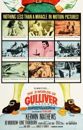 The 3 Worlds of Gulliver (1960) poster