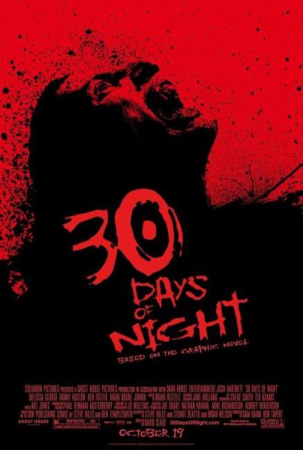 30 Days of Night (2007) poster