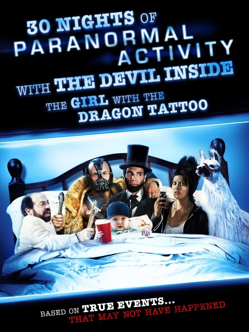 30 Nights of Paranormal Activity with the Devil Inside the Girl with the Dragon Tattoo (2013) poster