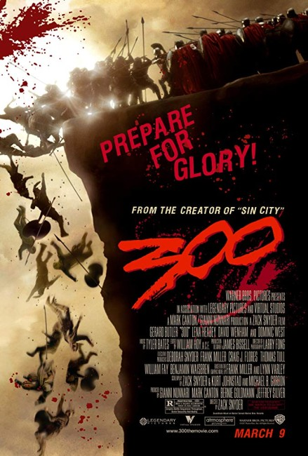 300 (2007) poster