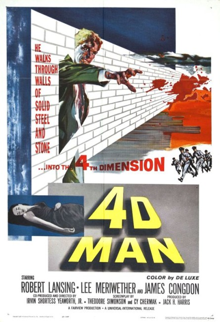 The 4D Man (1959) poster