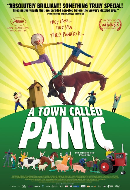 A Town Called Panic (2009) poster