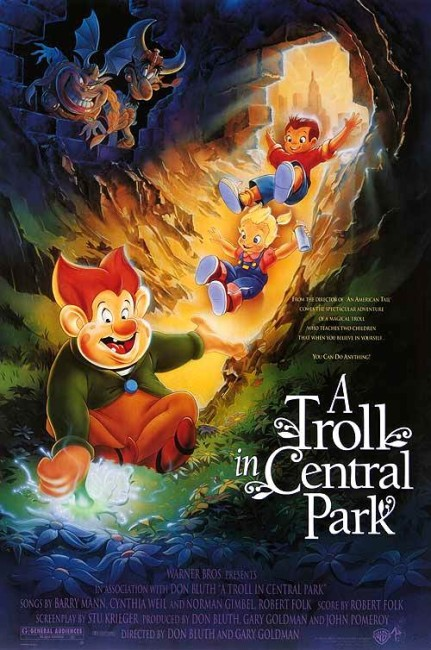 A Troll in Central Park (1994) poster