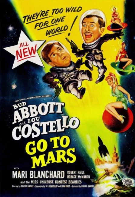 Abbott and Costello Go to Mars (1953) poster