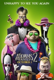 Addams Family 2 (2021) poster