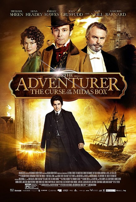 The Adventurer: The Curse of the Midas Box (2014) poster