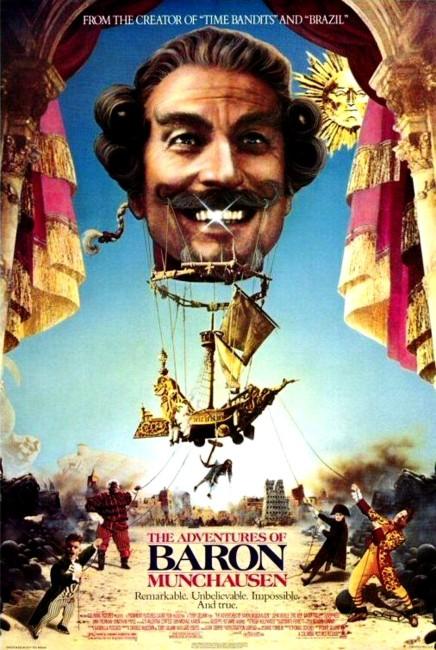 The Adventures of Baron Munchausen (1989) poster