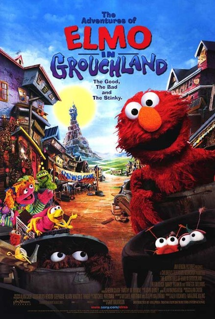 The Adventures of Elmo in Grouchland (1999) poster