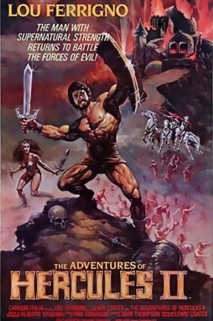 The Adventures of Hercules (1985) poster