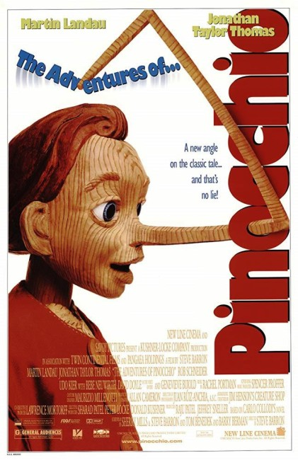 The Adventures of Pinocchio (1996) poster