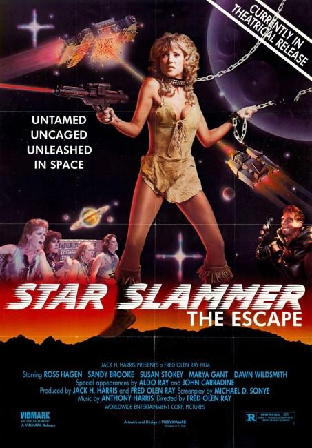 The Adventures of Taura: Prison Ship Star Slammer (1986) poster
