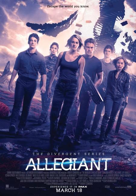 Allegiant (2016) poster