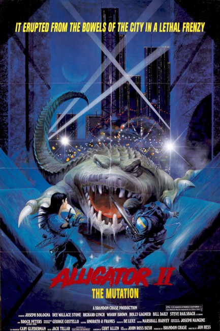 Alligator II: The Mutation (1991) poster