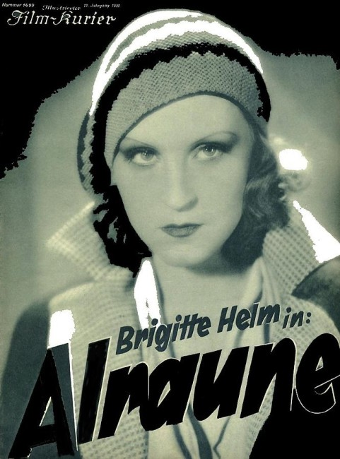 Alraune (1928) poster