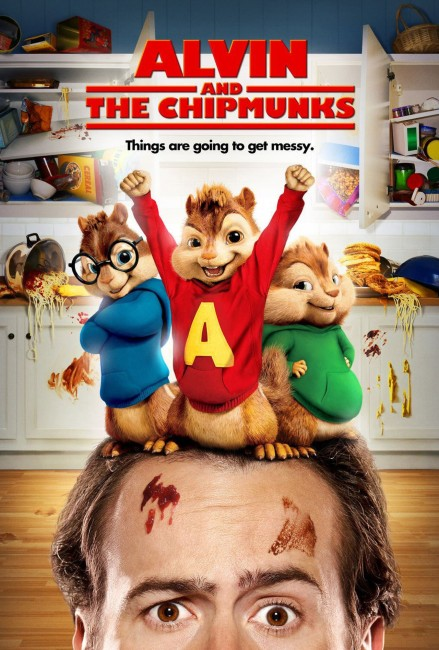Alvin and the Chipmunks (2007) poster