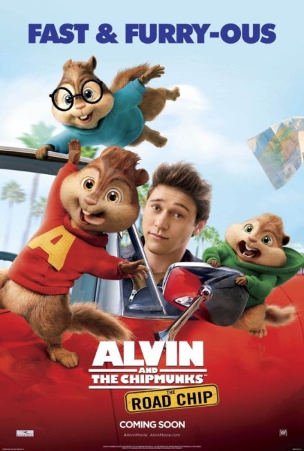 Alvin and the Chipmunks: The Road Chip (2015) poster