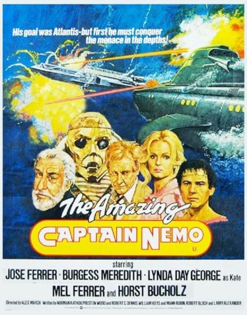 The Amazing Captain Nemo (1978) poster
