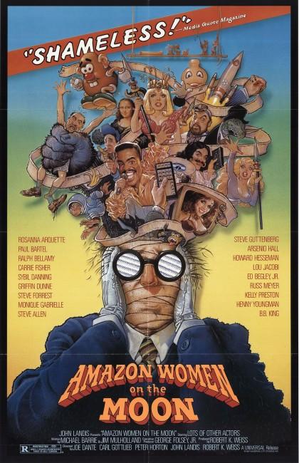 Amazon Women on the Moon (1987) poster