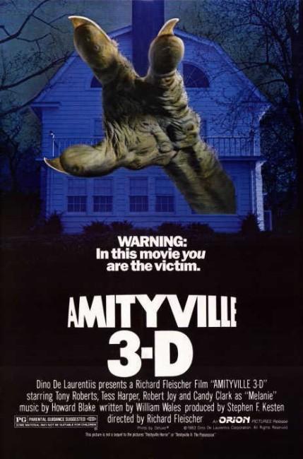 Amityville 3-D (1983) poster