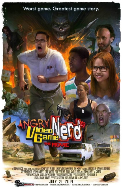 Angry Video Game Nerd: The Movie (2014) poster